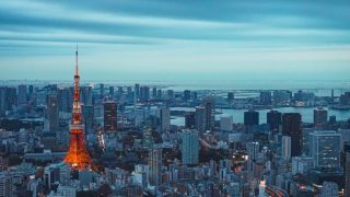יפן מגדל טוקיו